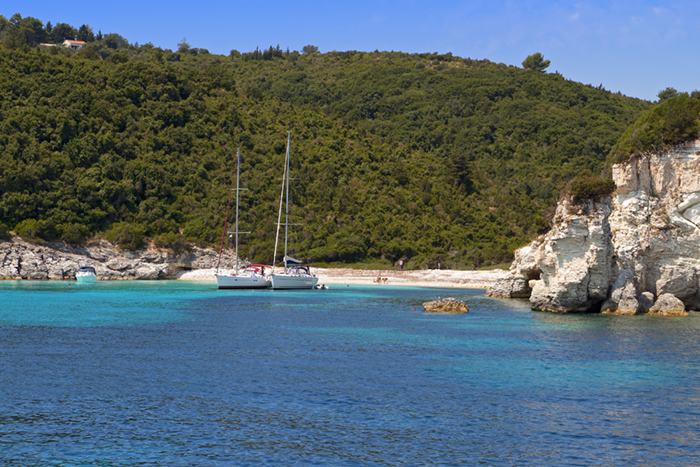 Antipaxos yacht charters