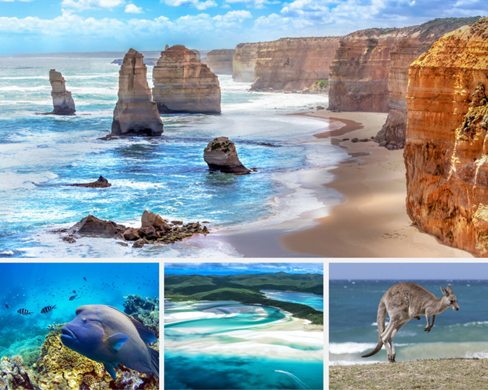 Australia photo collage