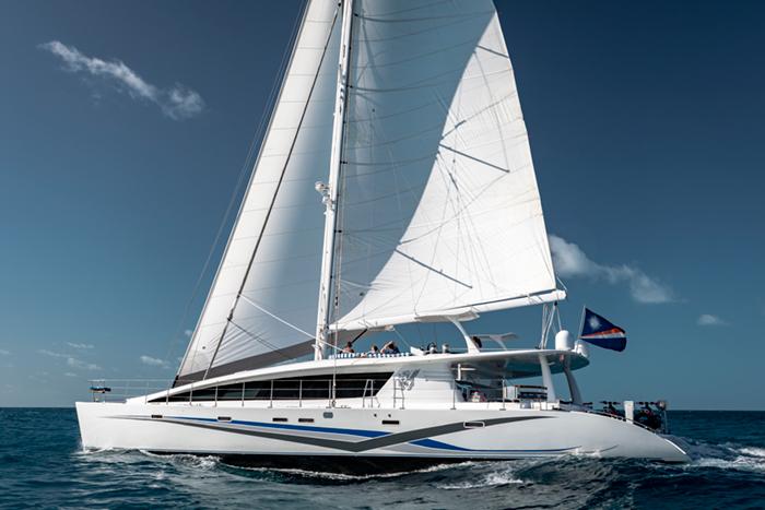 Catamaran Blue Gryphon