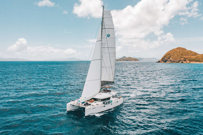 Catamaran FELIX main view