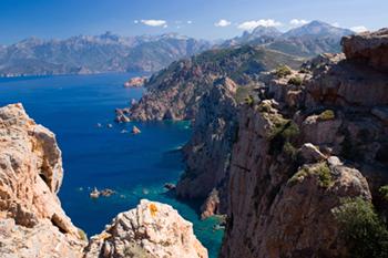 Corsica cliffs