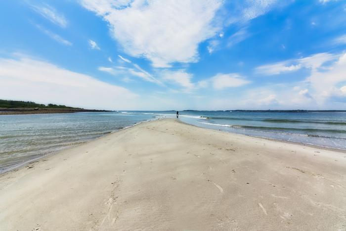 Goose Rocks beach New England