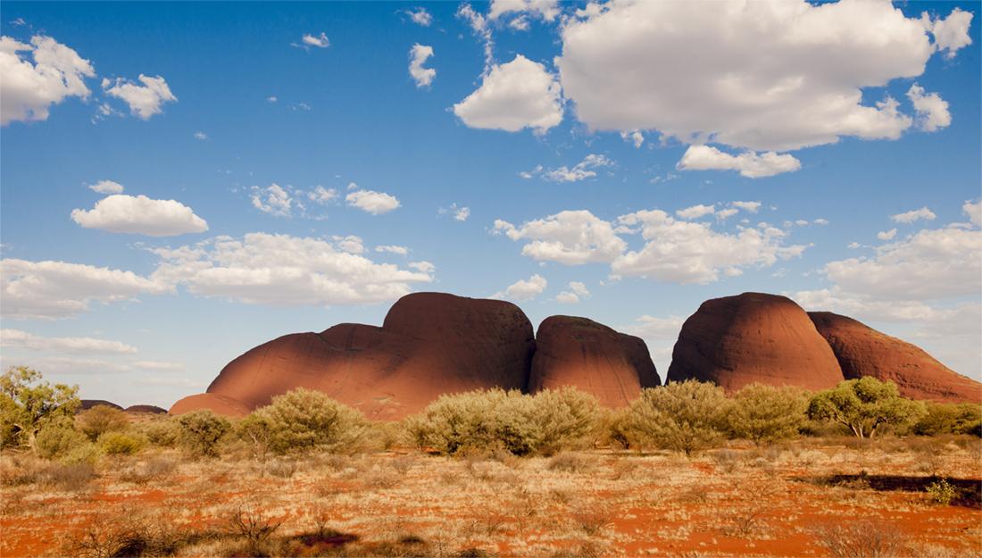 Inland Australia landscape
