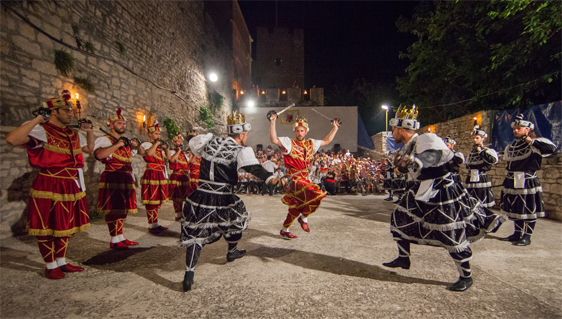 Korcula traditional dance festival