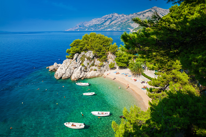 Makarska Croatia - Podrace Beach