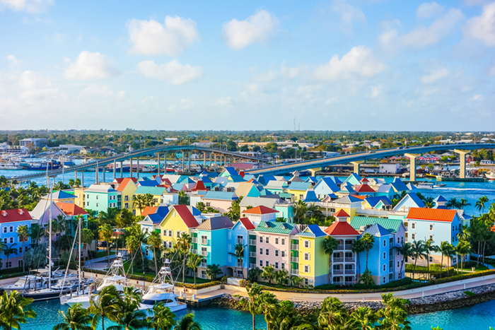 Nassau yacht charter - houses of Nassau