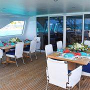 ctopussy - Upper deck dinner set up