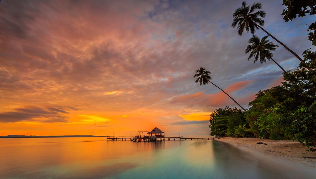 Ora Beach Indonesia
