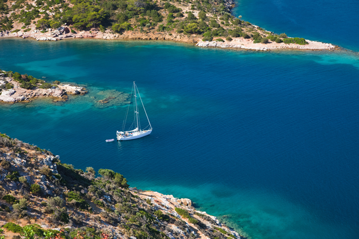 Poros yacht charters