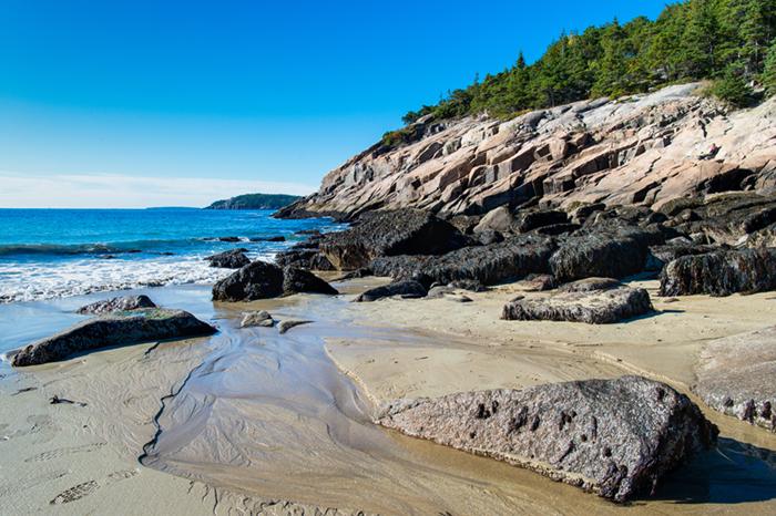 Sand Beach New England