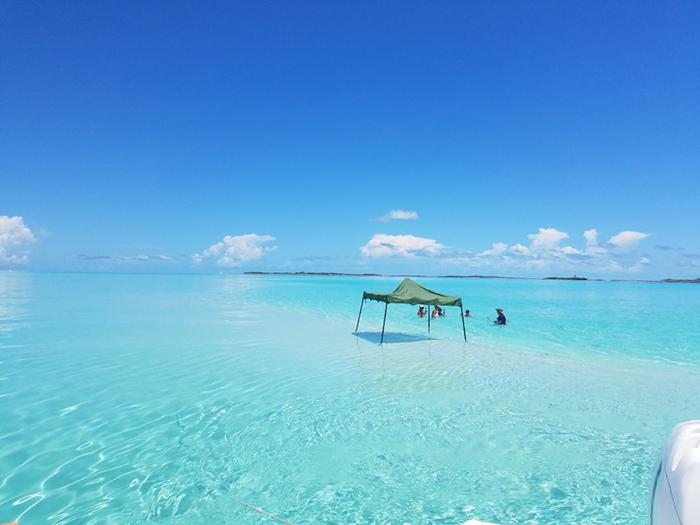 Shroud Cay in the Exuma