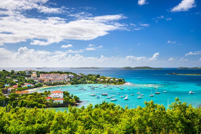 St Thomas yacht charters