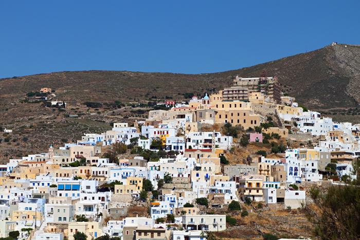 Syros island yacht charters
