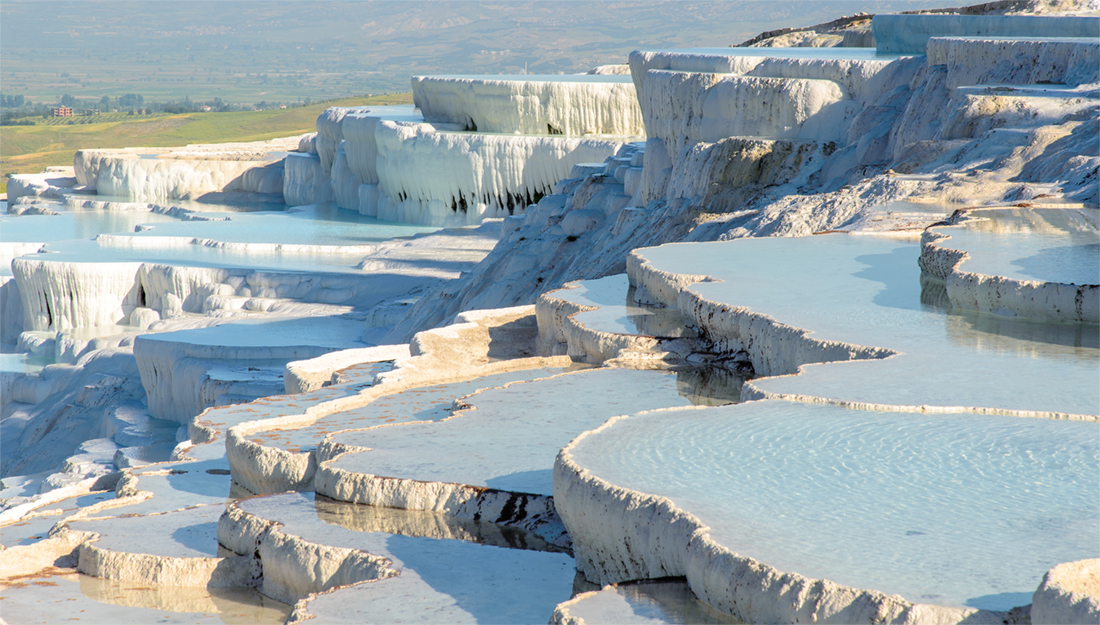 Turkey hot springs