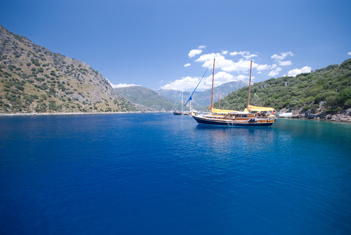 Turkey yacht charters gulet