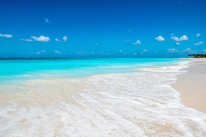 Turks and Caicos sandy beach