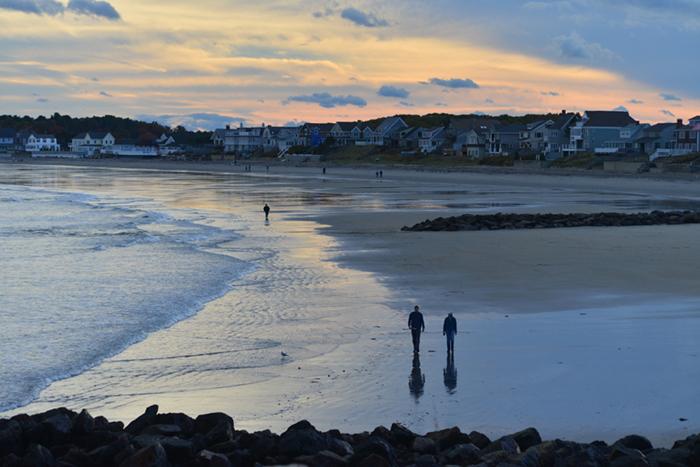 Wallis Sands Beach New England