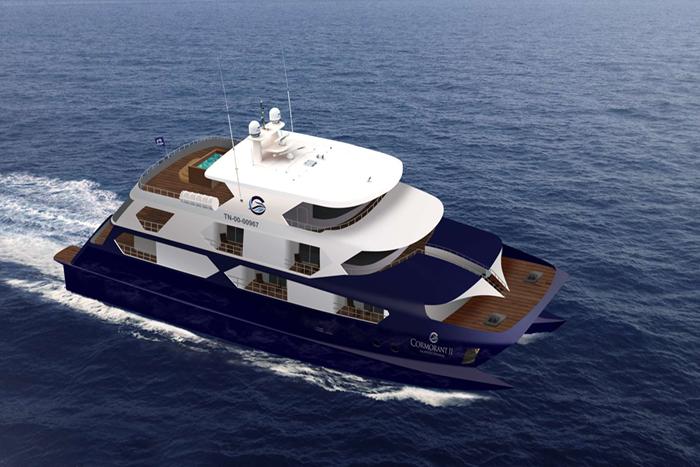 Yacht Cormorant II