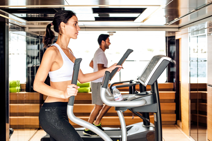Yacht Ouranos Gym