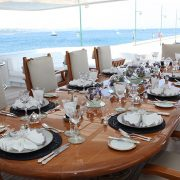 Apogee deck dining