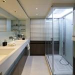 Aqua master bathroom