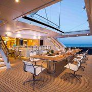 Aquijo main deck dining