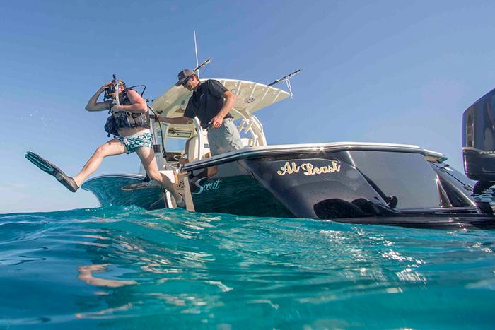 At Last scuba diving