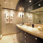 Carpe Diem master bathroom his