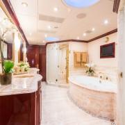 Casino Royale master bathroom