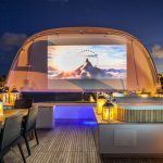 Charisma sundeck outdoor cinema