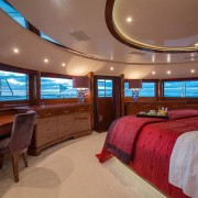 Checkmate master cabin on main deck