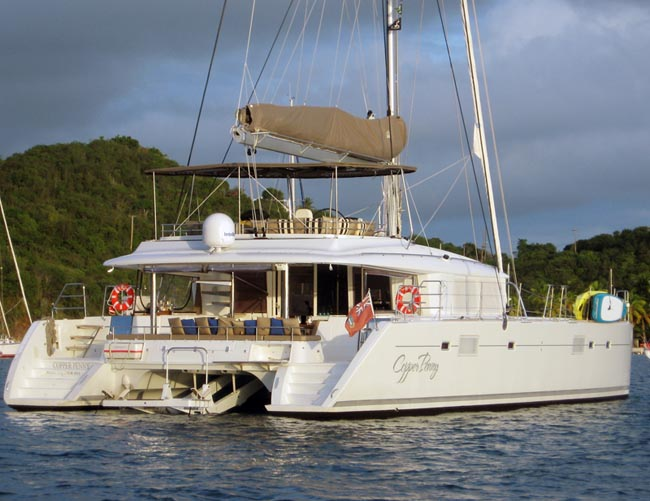 Catamaran Copper Penny