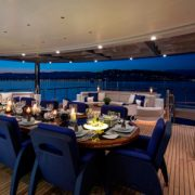 Excellence V deck dining