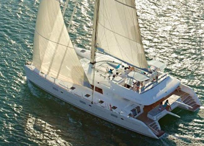 Catamaran Foxy Lady