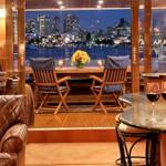 Kayana salon and aft deck