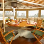 Pacific Yellowfin deck dining