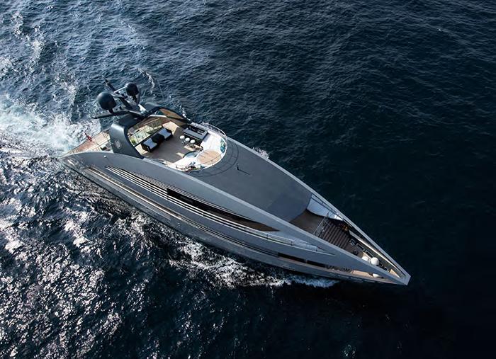 Yacht Ocean Emerald