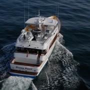 Ocean Pearl - Aerial shot