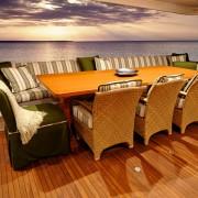 Ocean Pearl - Aft Deck Dining
