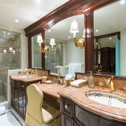 Starship master bathroom