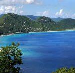 Tortola hills