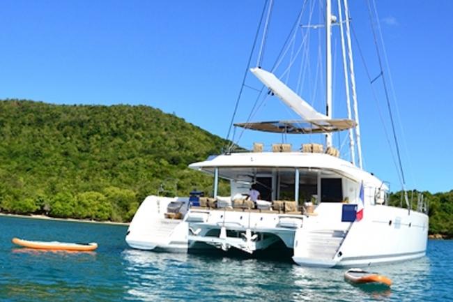 Zylkene 1 catamaran